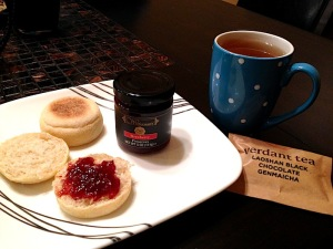 English muffins, with the preserves!